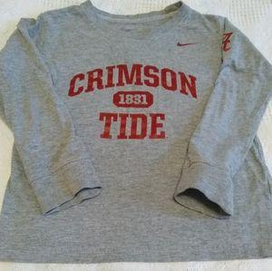 Crimson Tide Nike Long Sleeve Shirt